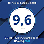 Booking.com Guest Review Awards 2016 - 9.6/10